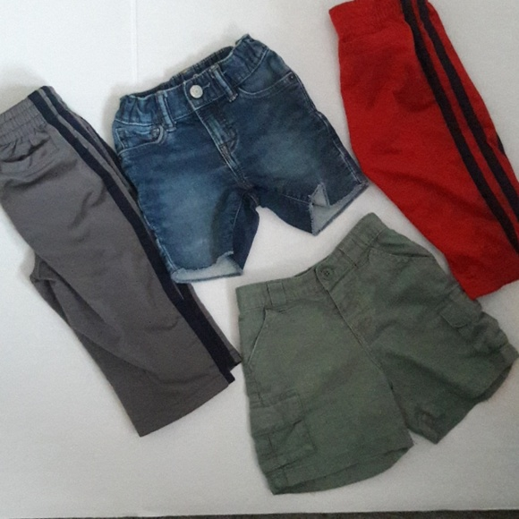 Clothing, Shoes & Accessories Baby Gap Red Joggers With Logo 6-12 Months Bottoms
